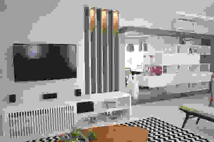 INTERIORES L | S Salas de estar modernas por Drömma Arquitetura Moderno