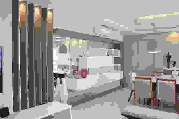 INTERIORES L | S Salas de jantar modernas por Drömma Arquitetura Moderno