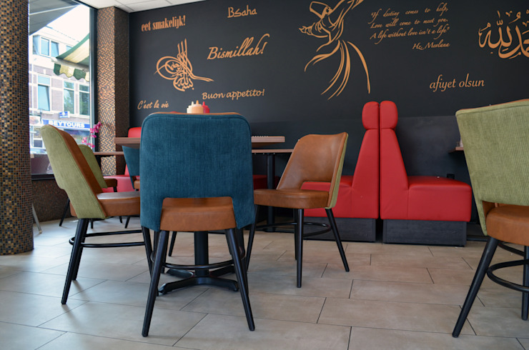 Mevlana Foodcompany Utrecht Mediterrane bars & clubs van Studio Nor Mediterraan