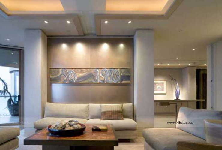 Our Exclusive Designs Modern living room by 4 Lotus Interior Modern