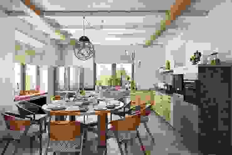 Дизайн студия Алёны Чекалиной Country style dining room