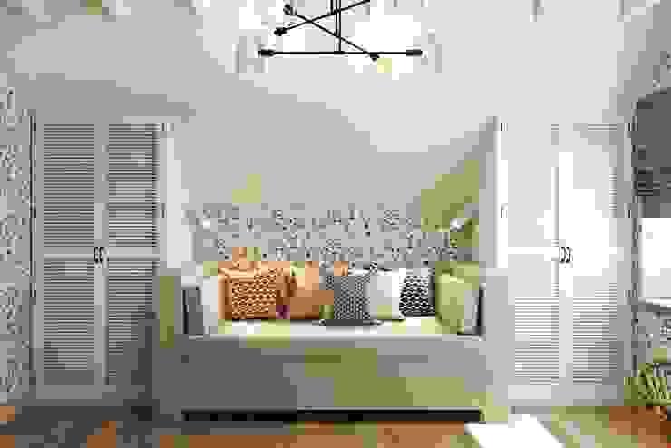 Dormitorios infantiles de estilo rural de Дизайн студия Алёны Чекалиной Rural