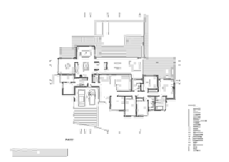 Rumah Minimalis Oleh MARIA NIGRO ARQUITECTA Minimalis