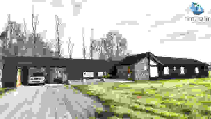 Fachada de NidoSur Arquitectos - Valdivia Moderno