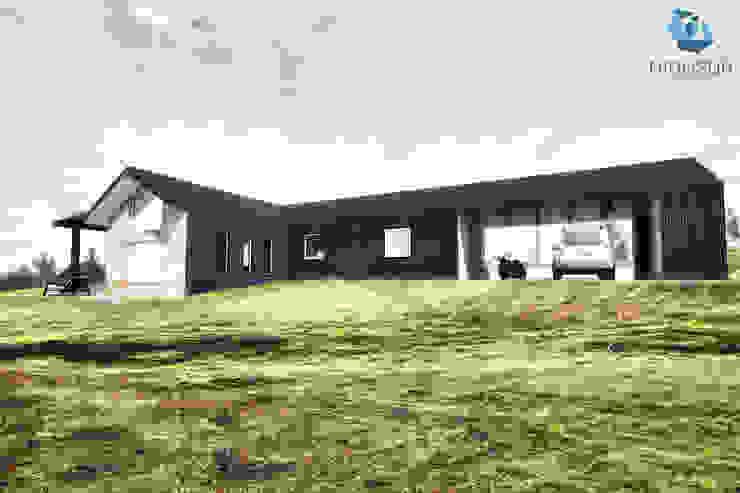 Detached home by NidoSur Arquitectos - Valdivia