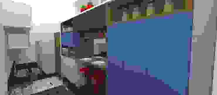Modern Mutfak Carolina Mendonça Projetos de Arquitetura e Interiores LTDA Modern