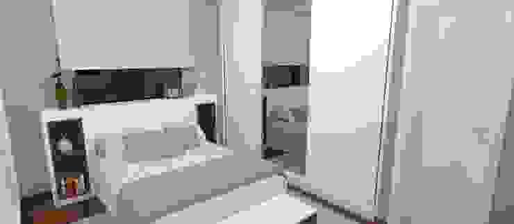 Modern Bedroom by Carolina Mendonça Projetos de Arquitetura e Interiores LTDA Modern