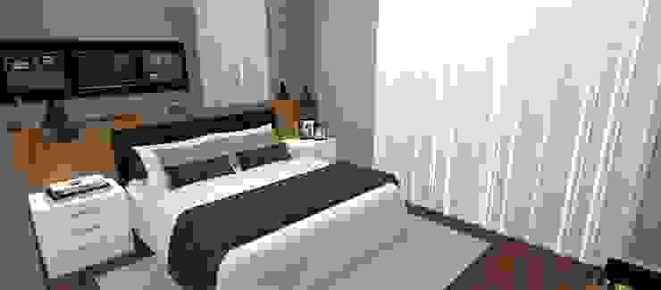 Modern style bedroom by Carolina Mendonça Projetos de Arquitetura e Interiores LTDA Modern