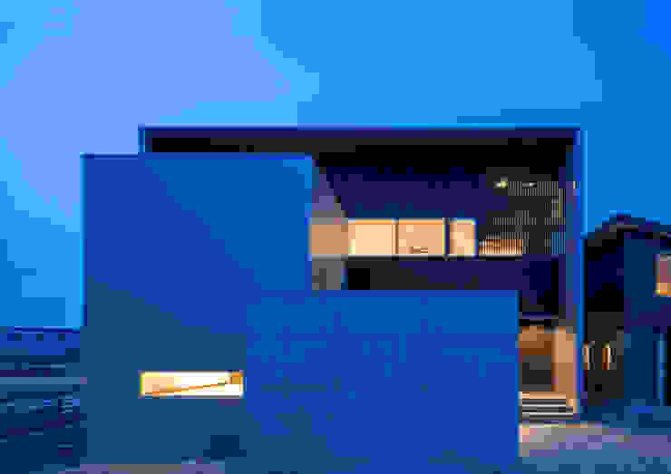 Moderne Häuser von 中村建築研究室 エヌラボ(n-lab) Modern Beton