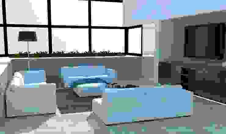 Casa Club Golf Paraiso Casas modernas de LNM Arquitectura & Diseño Interior Moderno