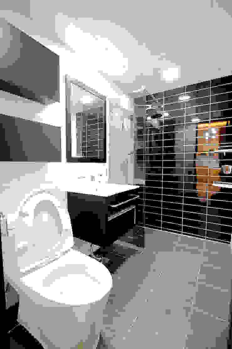 욕실 모던스타일 욕실 by inark [인아크 건축 설계 디자인] 모던 타일