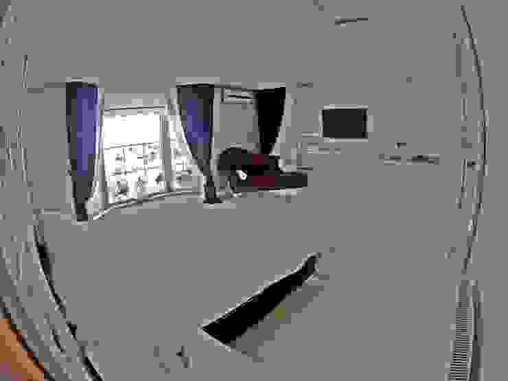 Evebeyn Yatak Odası Modern Yatak Odası Damla SABUNCU Modern Masif Ahşap Rengarenk