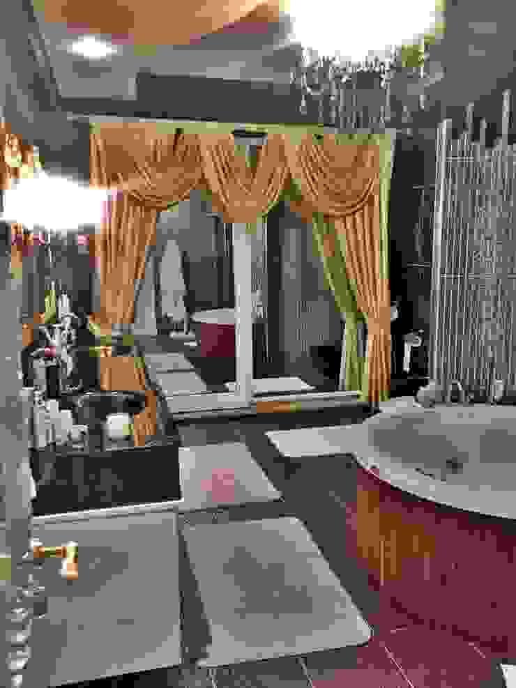 Modern Villa Modern Banyo Damla SABUNCU Modern Seramik