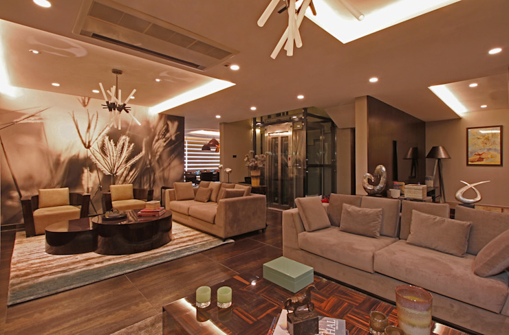 Contemporary Home design Classic style living room by Design House Classic