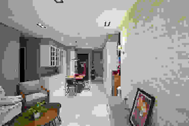 鄉村優雅宅 根據 微自然室內裝修設計有限公司 鄉村風