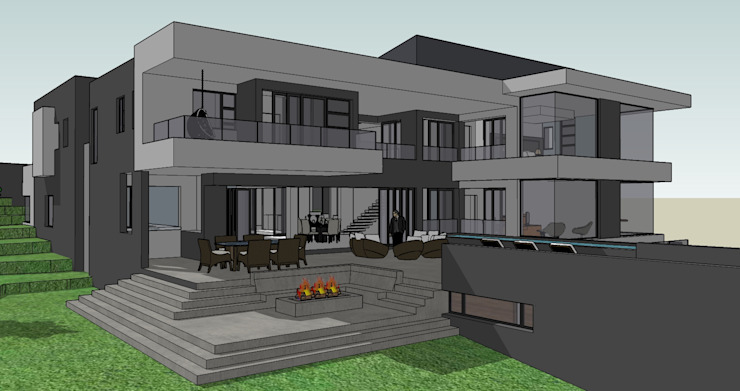 House Pandelani by GMB Architects