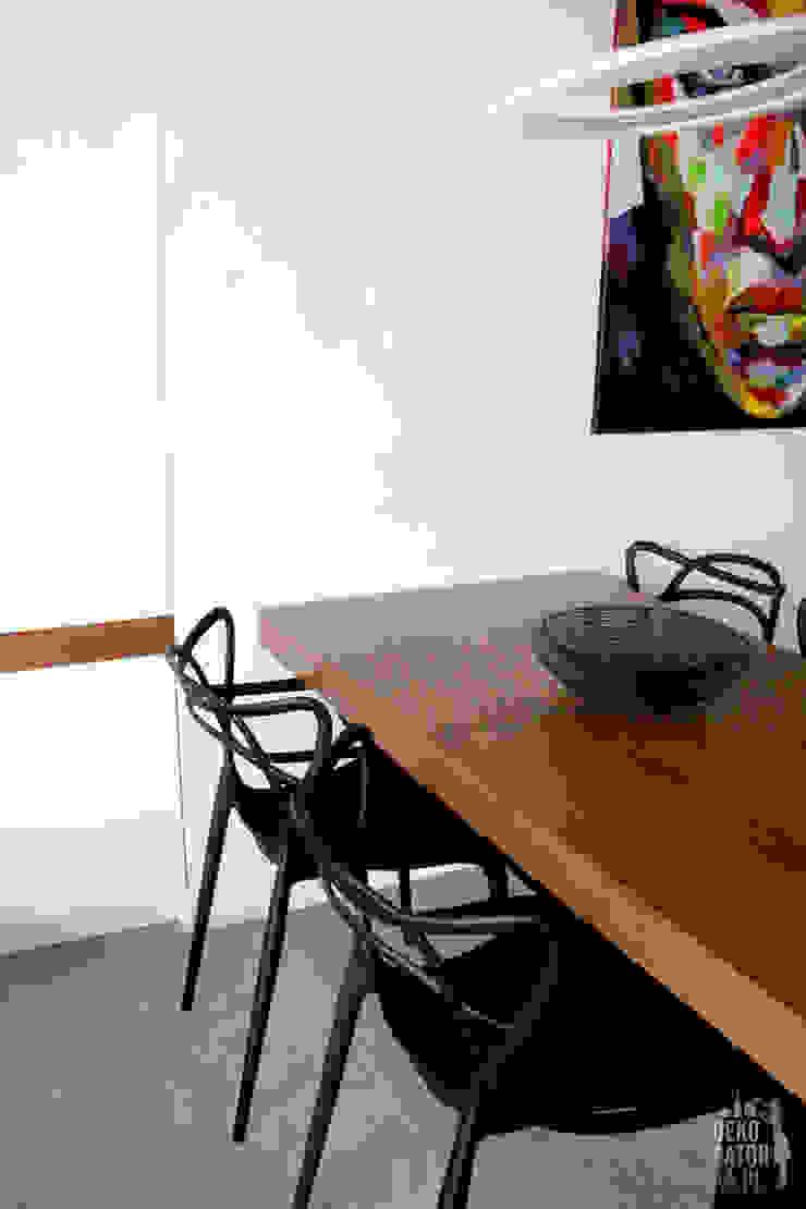 Modern dining room by dekoratorka.pl Modern