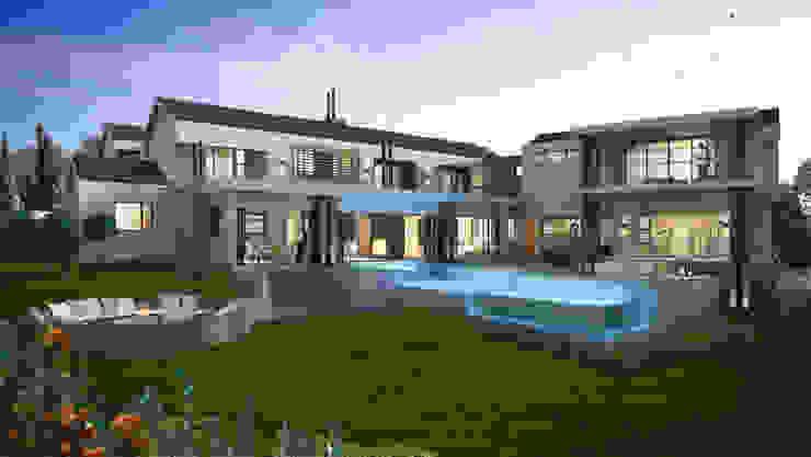 Maisons modernes par Urban Habitat Architects Moderne Aluminium/Zinc