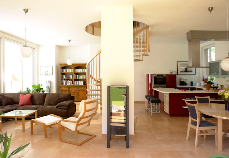 Salas de estilo clásico de Müllers Büro Clásico