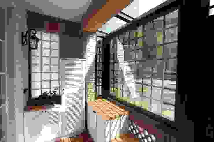 Flur, Diele & Treppenhaus im Landhausstil von 微自然室內裝修設計有限公司 Landhaus