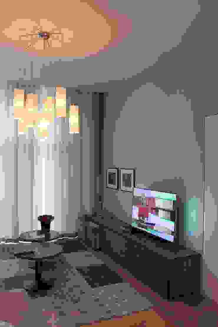 TV meubel op maat Scandinavische woonkamers van Lento Interiors Scandinavisch