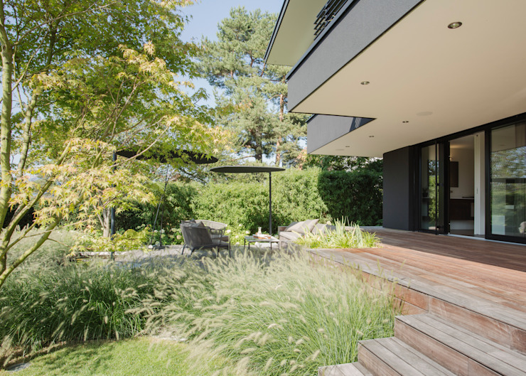 meier architekten zürich 庭院 木頭