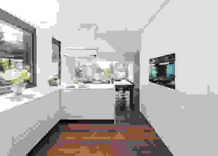 meier architekten zürich 現代廚房設計點子、靈感&圖片 White