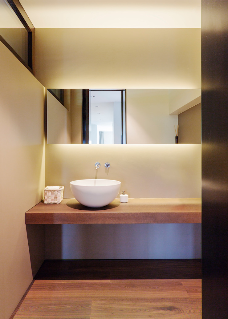 meier architekten zürich 現代浴室設計點子、靈感&圖片