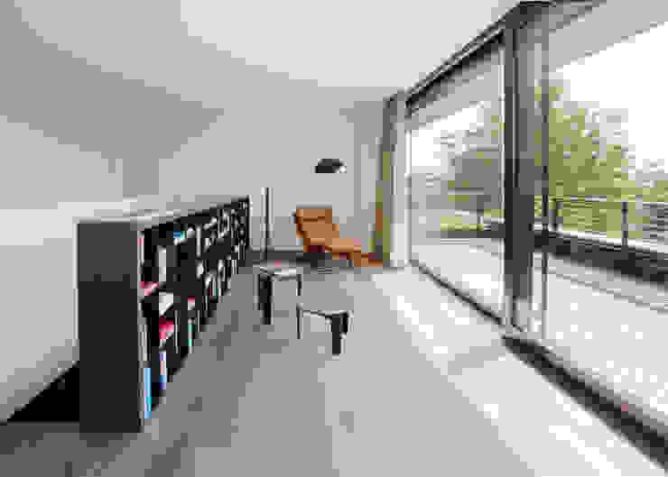 meier architekten zürich 现代客厅設計點子、靈感 & 圖片