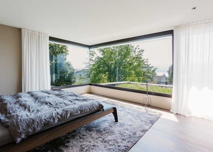 Modern style bedroom by meier architekten zürich Modern