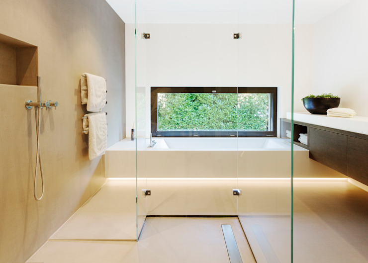 Modern Bathroom by meier architekten zürich Modern