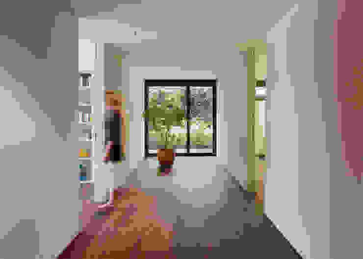 meier architekten zürich 現代風玄關、走廊與階梯
