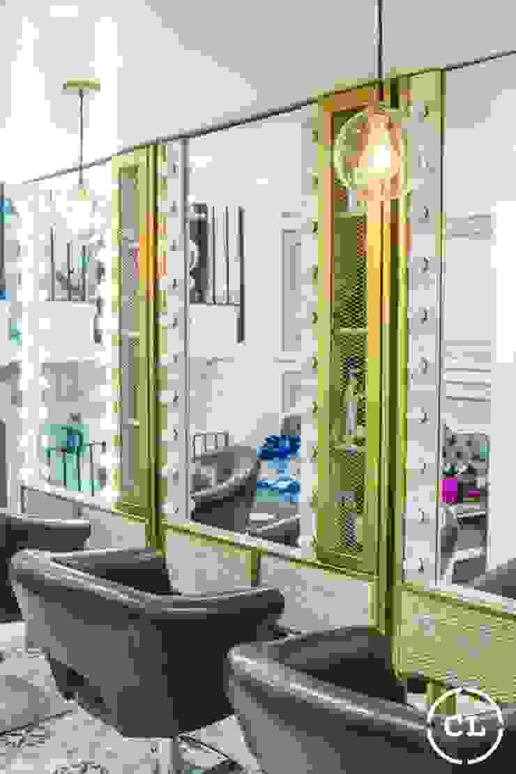 Salon de belleza de Cristina Cortés Diseño y Decoración Moderno
