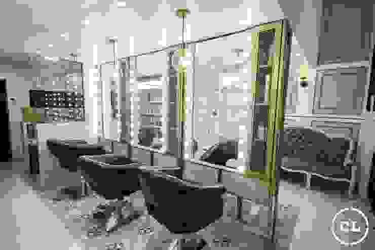 Area de estilistas de Cristina Cortés Diseño y Decoración Moderno