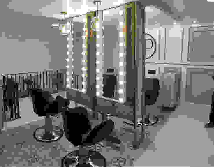 Area de maquillaje de Cristina Cortés Diseño y Decoración Moderno