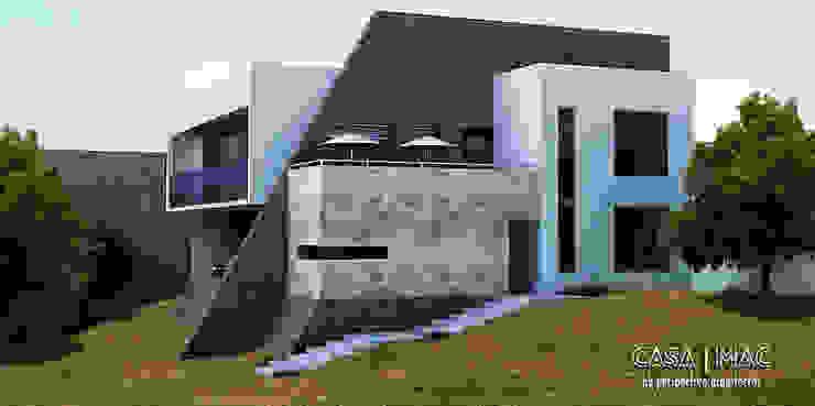 Casa MAC Casas eclécticas de Perspectiva Arquitectos México Ecléctico Piedra