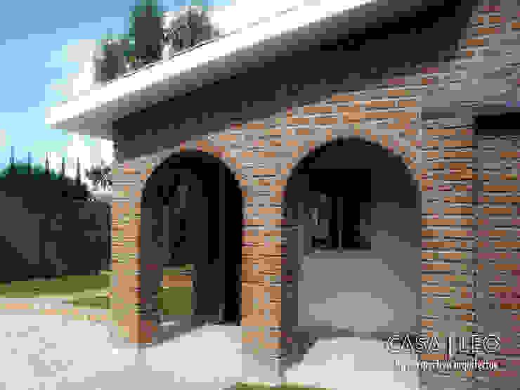 Casa LEO Casas eclécticas de Perspectiva Arquitectos México Ecléctico Ladrillos