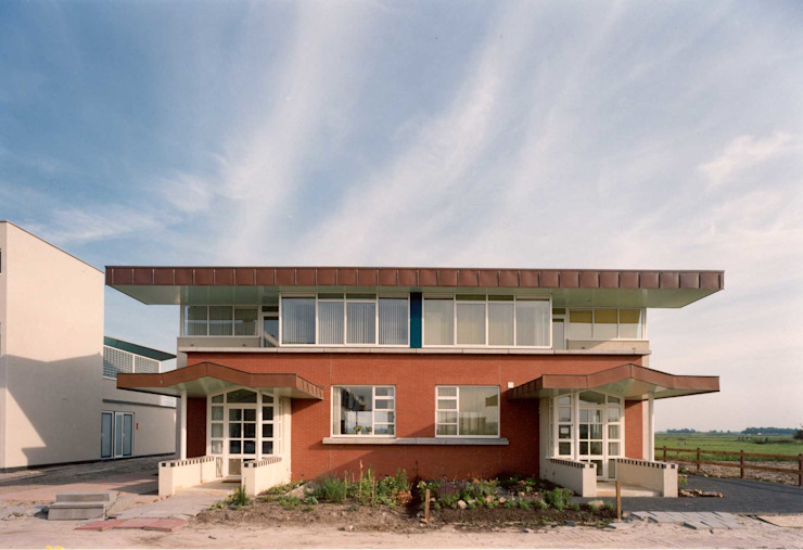 entreegevel Eclectische huizen van Voets Architectuur en Stedenbouw Eclectisch