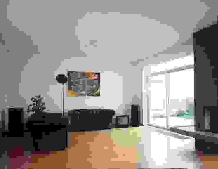 interieur Eclectische woonkamers van Voets Architectuur en Stedenbouw Eclectisch