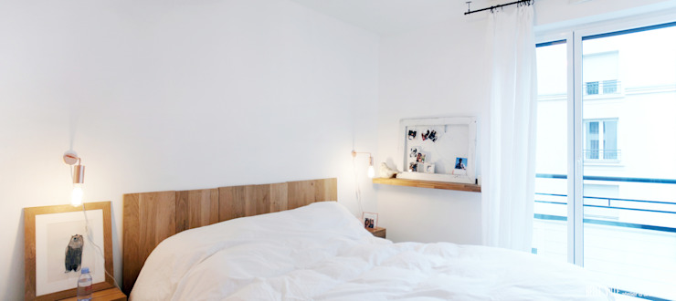 Scandinavian style bedroom by Belle Ville Atelier d'Architecture Scandinavian