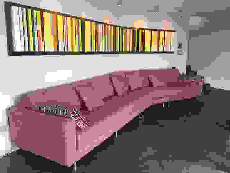 Apto. Bello Monte Salas de estilo moderno de THE muebles Moderno