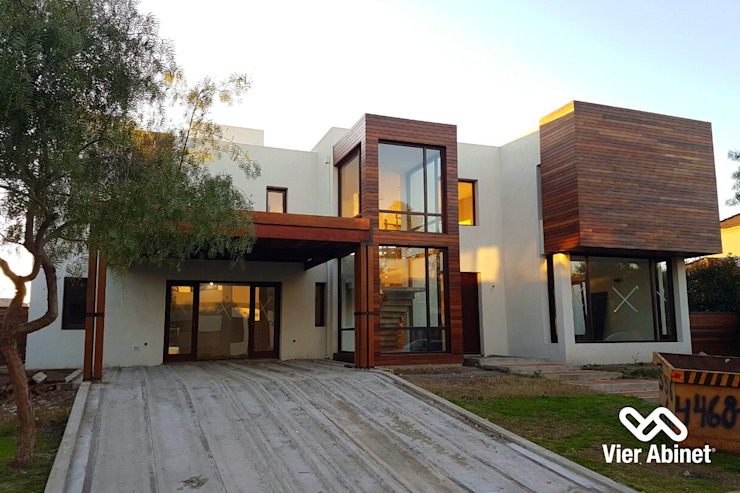 Modern houses by VIER ABINET S.A. Pisos & Decks Modern Wood Wood effect