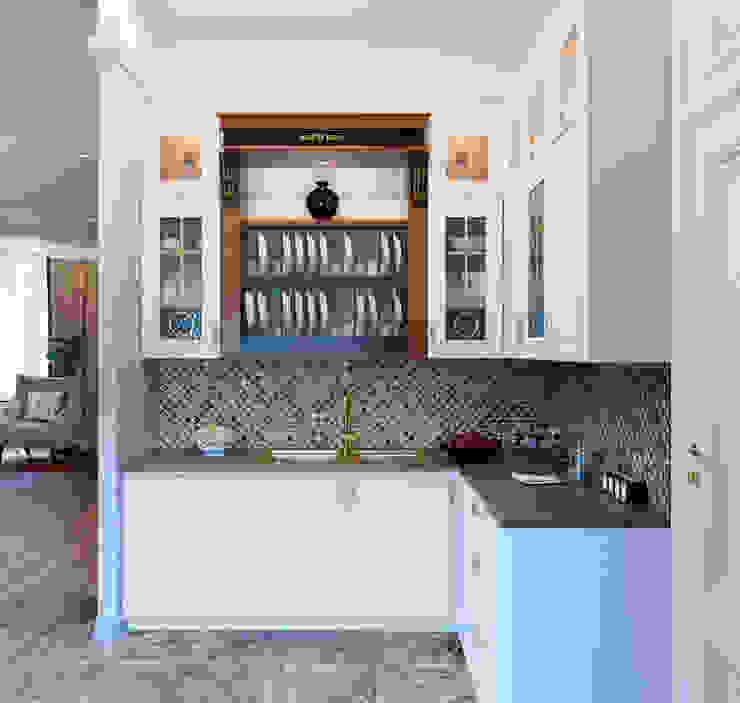 Дивная птица в золотом: Кухни в . Автор – ЙОХ architects