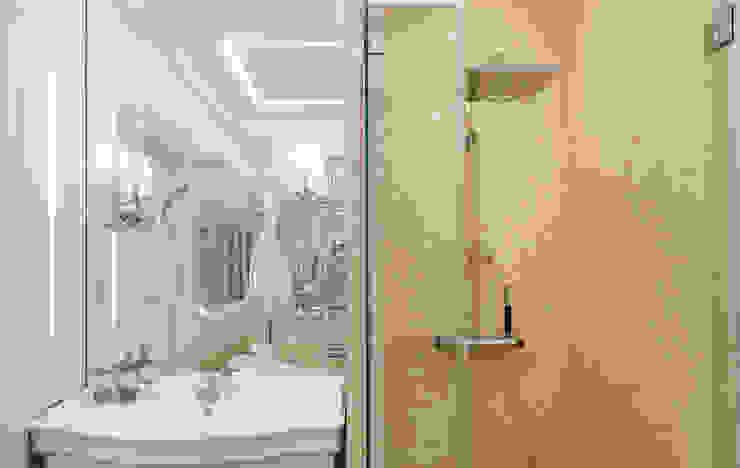 Casas de banho  por design studio by Mariya Rubleva,