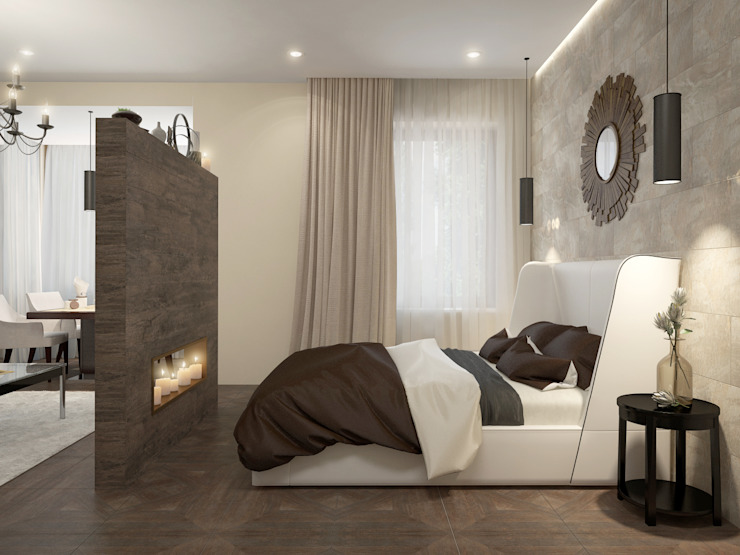 Modern style bedroom by Rubleva Design Modern