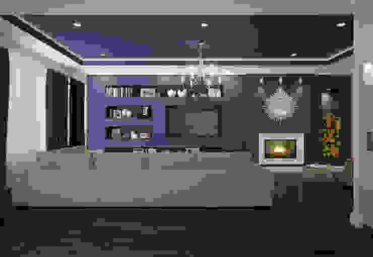 Salas modernas de Rubleva Design Moderno