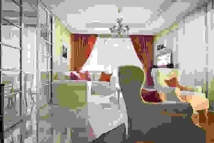 Living room by design studio by Mariya Rubleva