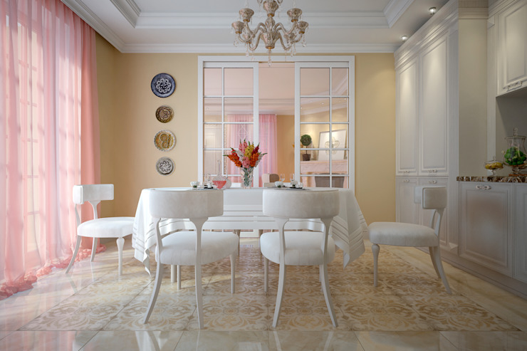 Dining room by design studio by Mariya Rubleva, Classic