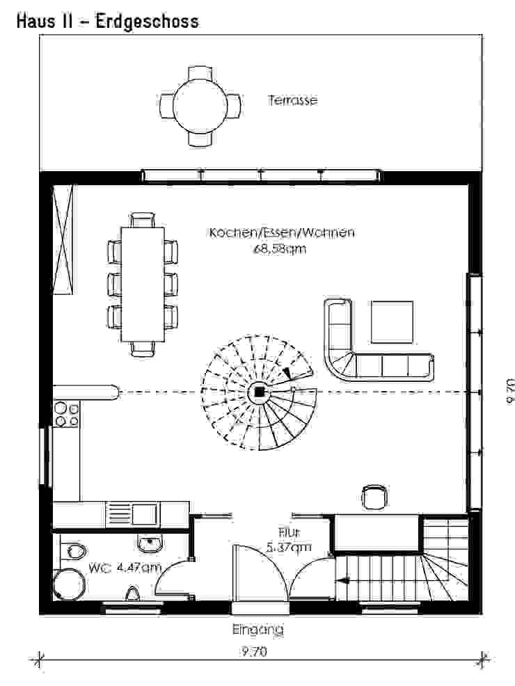 Haus Strausberg I+II Klassische Häuser von Müllers Büro Klassisch