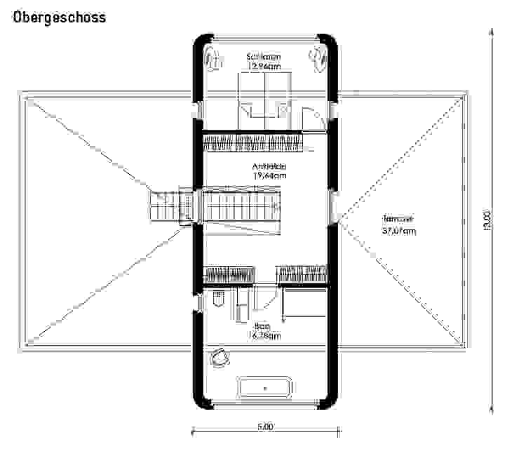 Casas de estilo  por Müllers Büro